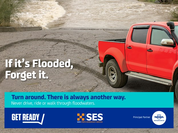 If it's flooded, forget it!