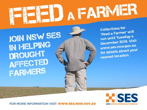 Feed a Farmer graphic