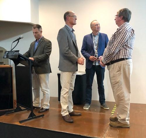 Peter Mair National Media Clasp 3 recipient