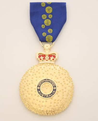Graphic of Order of Australia Medal