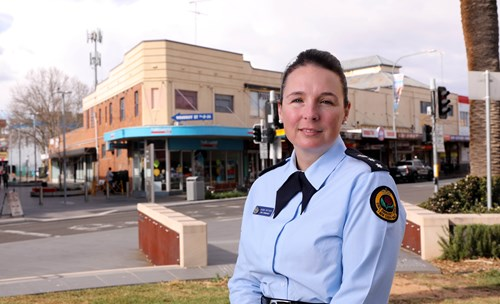 Laura Wythes, NSW SES Zone Commander for Sydney