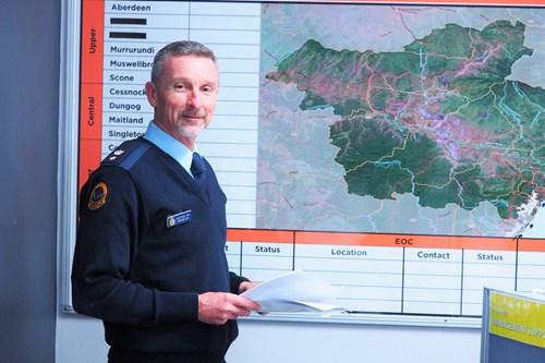 Operations Commander Tony Day